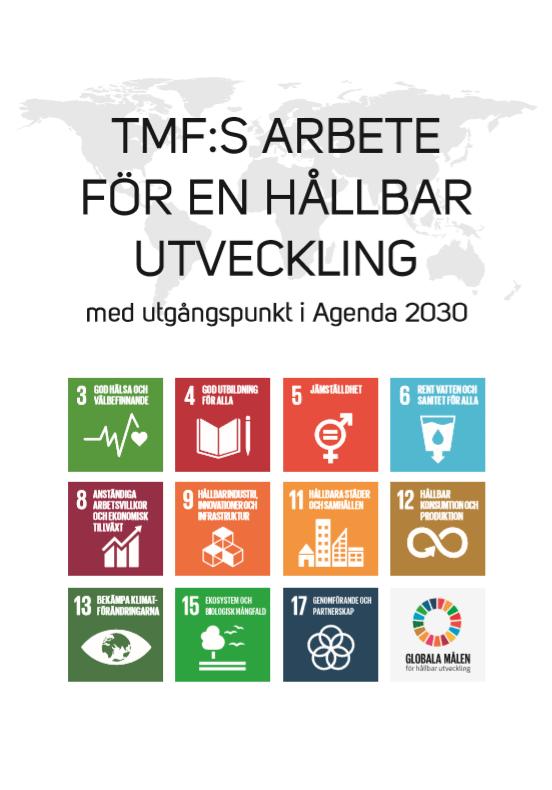 Broschyr TMF:s arbete för en hållbar utveckling